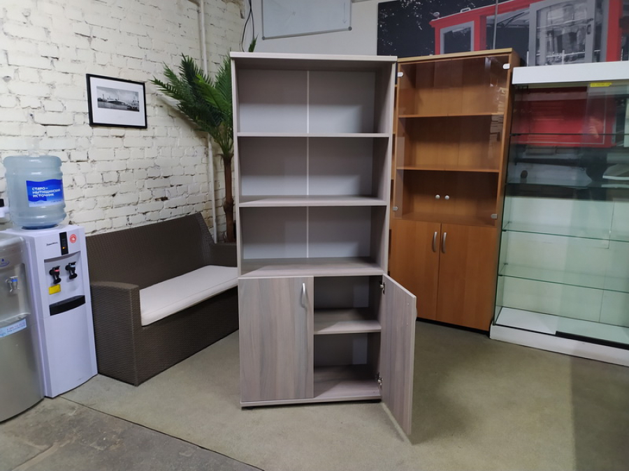 Шкаф для документов, низ двери Новый вяз либерти