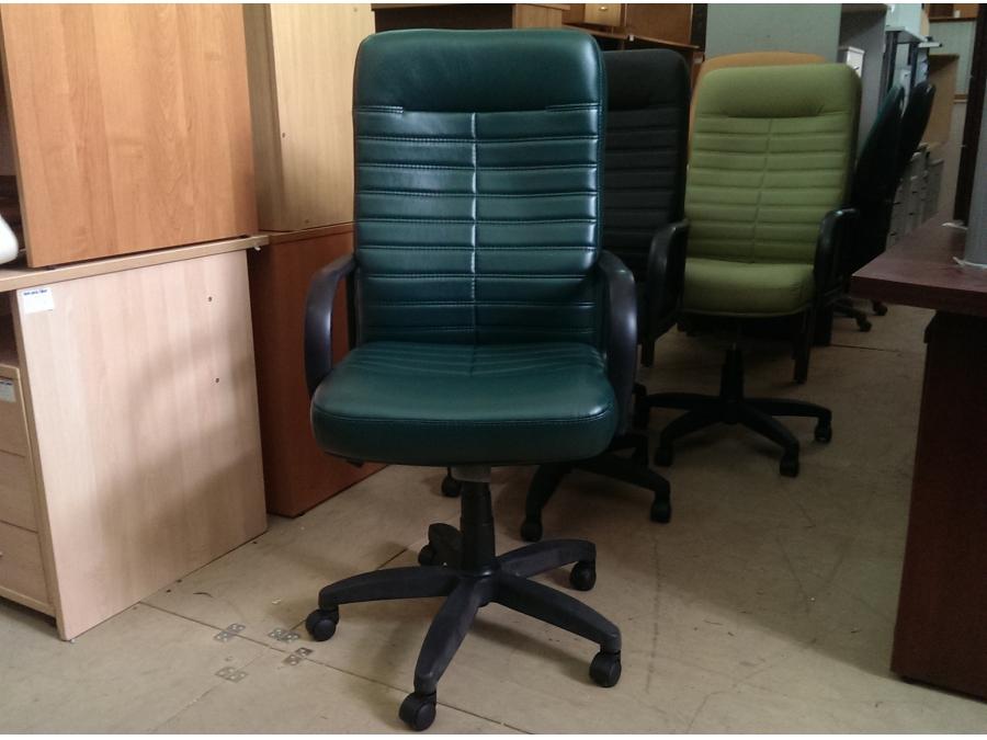 Кресло руководителя ОРМАН (зеленый) НОВОЕ!