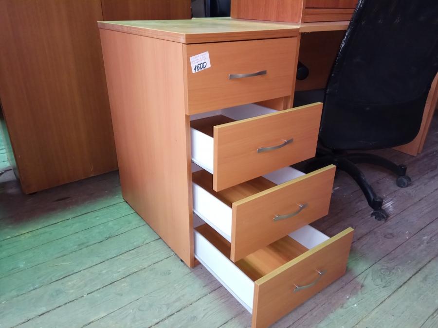 Тумба приставная 4 ящика бу