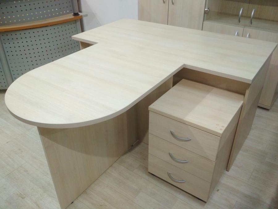 Комплект мебели (3 предмета) ЛИДЕР (светлый дуб шамони) НОВЫЙ!
