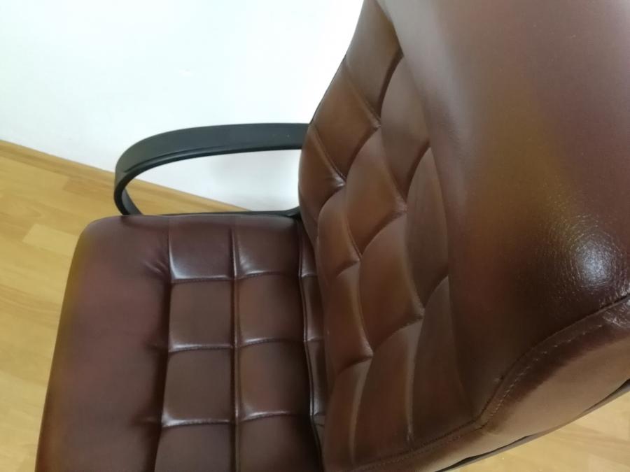 Кресло руководителя СТИЛЬ ЭКО(коричневый) НОВОЕ!