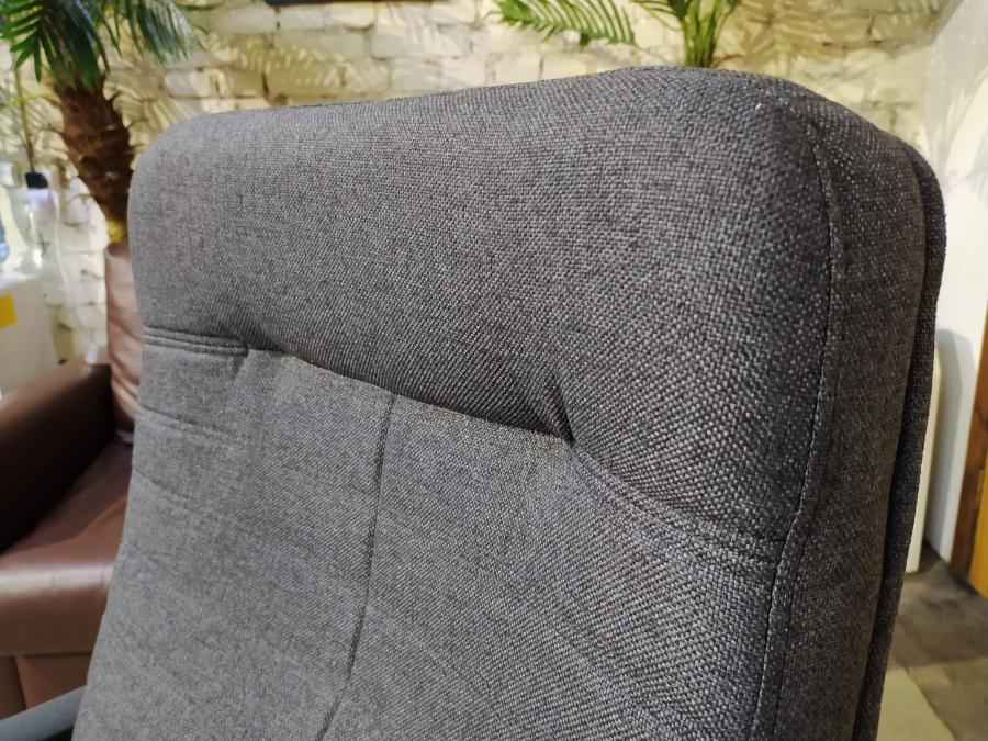 Кресло руководителя ОРМАН (ткань серый). Новое!