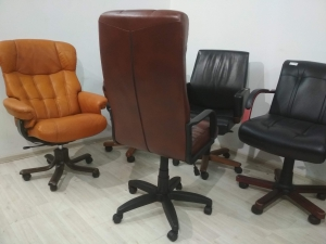Кресло руководителя АТЛАНТ ЭКО (коричневый) НОВОЕ!