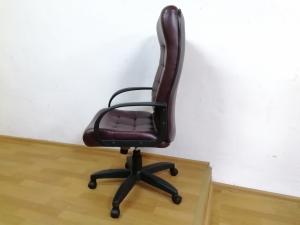 Кресло руководителя СТИЛЬ ЭКО (вишня) НОВОЕ!