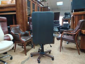 Кресло руководителя ГЕРМЕС Экстра-1.031 (черный). Новое!