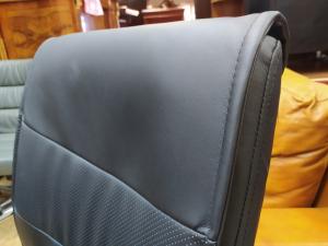 Кресло руководителя ГРАФ Хром (черный). Новое!
