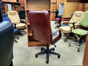 Кресло руководителя ОРМАН (коричневый) НОВОЕ!