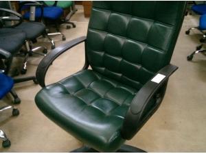 Кресло руководителя СТИЛЬ ЭКО (зеленый) НОВОЕ!